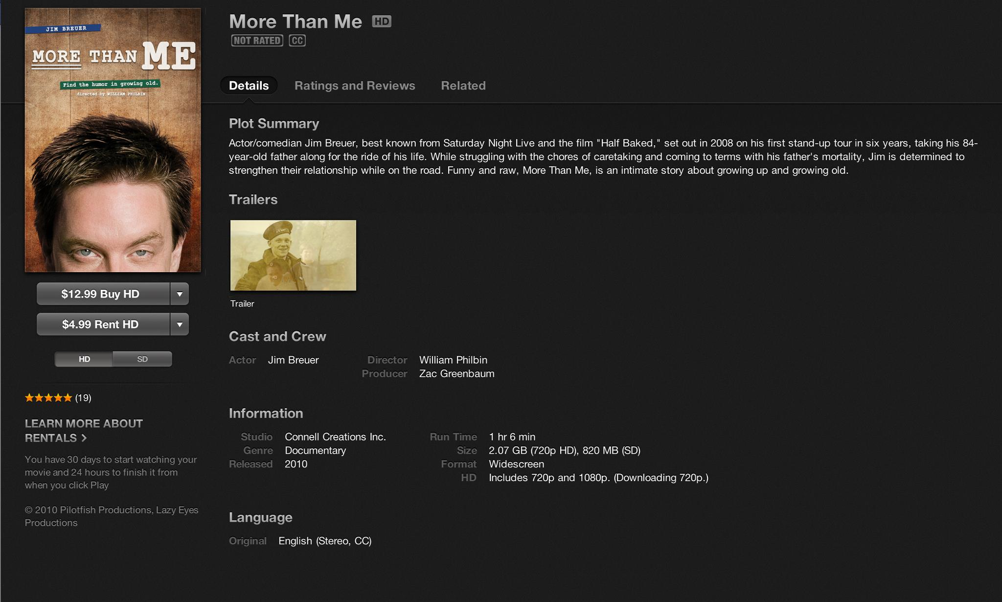 """MORE THAN ME"" now on iTunes!"